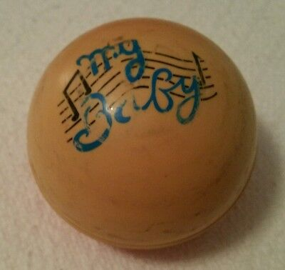 VINTAGE My  Baby Ball  - Very Rare musical chime