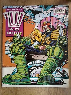 The Best of 2000AD Monthly no 46 (July 1989) - Judge Dredd - very good condition