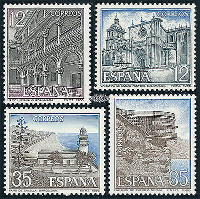 Spanish Stamps - 1986 Tourist Series 2 Sets In MNH Condition