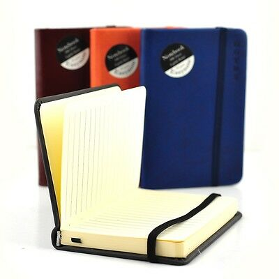 A6 Premium Soft Touch Notebook Notepad 80gsm Ruled Page Neon Colours Hardback