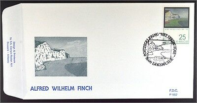 Belgien 2469 FDC Alfred William Finch Gemeinschatsausgabe Joint Issue 1991