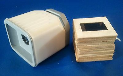 DIASKOP 2 Slide Viewer  Soviet 70s USSR w/ Set Slides