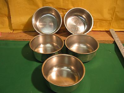 Lot Of 5 Vollrath 87414 Stainless Steel Bowls