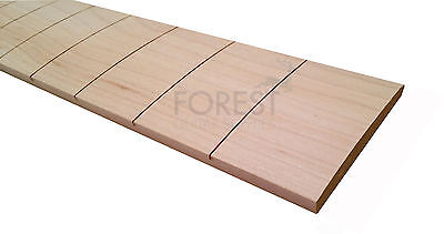 "Maple guitar fretboard, fingerboard 25.5"" IBANEZ slotted R17""-diapasón arce"