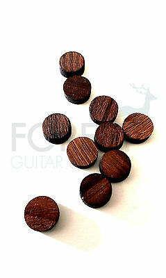 Indian rosewood fretboard inlay dot 6mm, set of 10