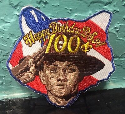 Boy Scout Happy Birthday 100th Anniversary Patch BSA