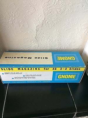 Projector Slide Magazine Gnome - Holds 30 Slides. One Available.