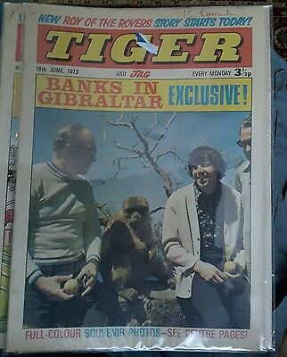 Tiger And Jag  Vintage Comic 16th June 1973