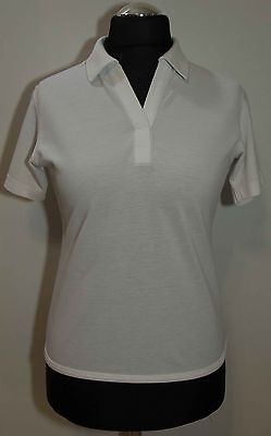 Womens Galvin Green Top White Size 40/m Gc