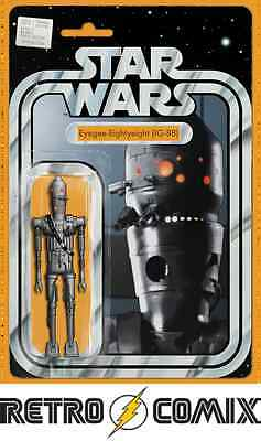 Marvel Star Wars #25 Action Figure Variant New/unread Bagged & Boarded