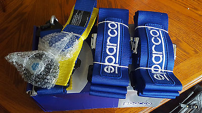 Sparco BLUE 4 point Racing harnesses