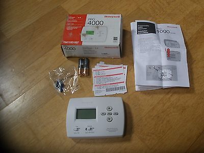 Honeywell Th4110D1007 Pro 4000 Programmable  Thermostat
