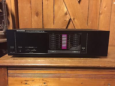 Kenwood Stereo Power Amplifier Amp KM-106 Vintage Excellent Working Condition