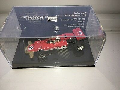 Jochen Rindt Lotus 72 World Champions Collection 1970 1:43rd Scale Model