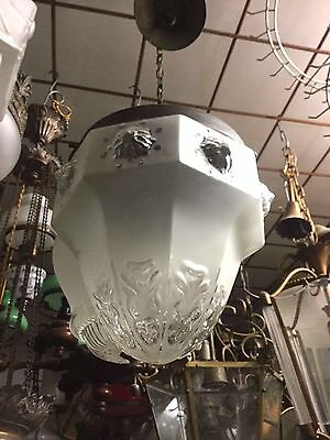 Antique Glass Light Pendant