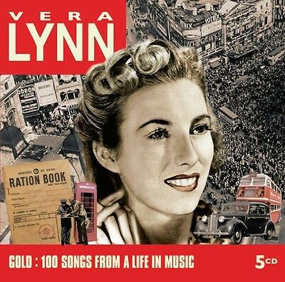 Gold: 100 Songs From A Life In Music - Vera Lynn (2009, CD NEUF)5 DISC SET