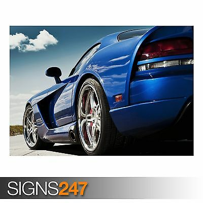 0279 Picture Poster Print Art A0 A1 A2 A3 A4 Car Poster DODGE SRT VIPER