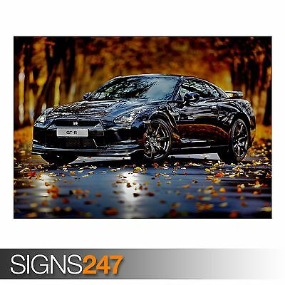 NISSAN SKYLINE CAR POSTER AA418 Photo Picture Poster Print Art A0 to A4