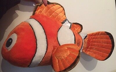 """Super Large finding nemo cuddly plush soft toy  ( 17"""" ) From Disney store"""