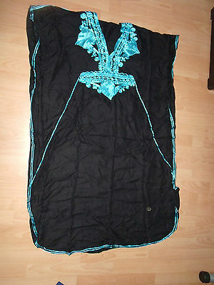 Moroccan   Kaftan   Black Ice    BEACH     House - Night Out Summer Dress