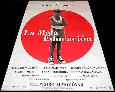 La mala educación ORIGINAL SPAIN 04' POSTER Pedro Almodovar Bad Education