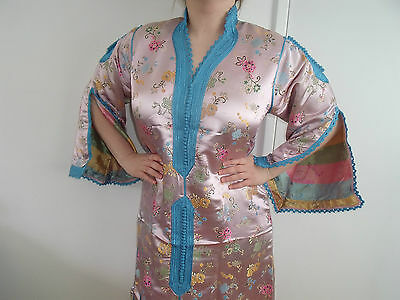 Moroccan Pink Blossom China   1 Piece    Onc Size EID / Wedding / OCCASION DRESS