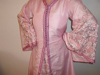 Moroccan Takchita  Pink Purple     2 Piece under Garment Kaftan  North African