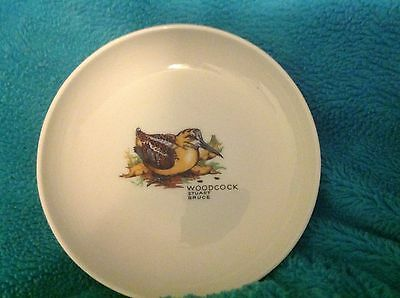"Vintage Syracuse China Stuart Bruce Woodcock 4.5"" x 1.25"" Bowl Excellent"