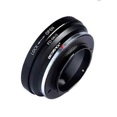 Beschoi Lens Mount Adapter ring for Canon FD Lens to Micro 4/3 Olympus PEN and P