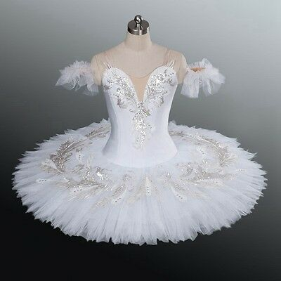 Professional Odette White Swan Classical Ballet Tutu Costume Bust 29-32 YAGP!