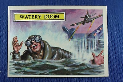 1965 Topps Battle Cards - #6 Watery Doom - Near Mint Condition