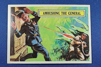 1965 Topps Battle Cards - #7 Ambusing The General - Near Mint Condition