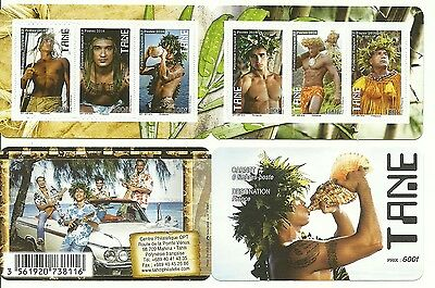 New Issue French Polynesia Tane (Boys) Booklet  Mnh 2016
