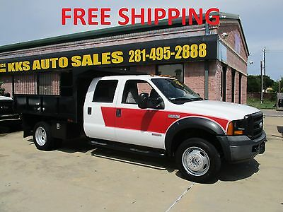 2006 Ford F-550  2006 FORD F-550 DUMP AND LANDSCAPING SUPER DUTY TURBO DIESEL TRUCK