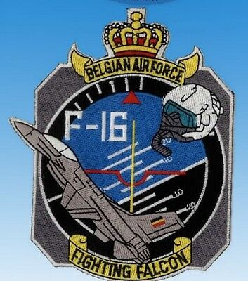 Patch écusson F-16 Fighting Falcon Belgian Air Force  Neuf