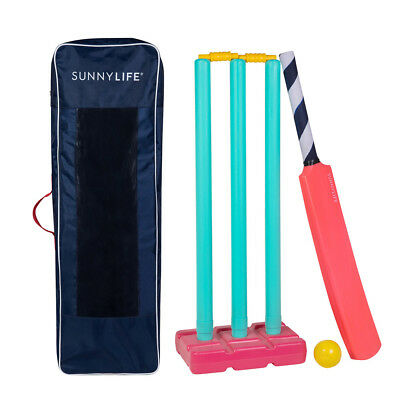 NEW SunnyLife Coral Beach Cricket Set