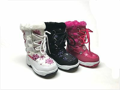 Brand New Toddler Girl's Fashion Winter Snow Boots Size 6 - 11