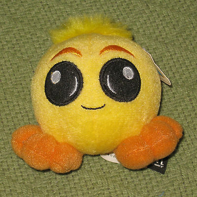 Neopets Yellow JubJub Pet McDonald's Plush Toy with Tags Collectible 2004