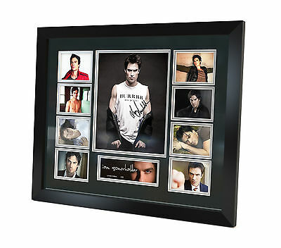 Ian Somerhalder - Signed Photo Memorabilia Limited Edition of 250  Framed - COA