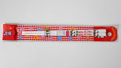 VINTAGE! 1994 HELLO KITTY Chopsticks Collectable Item by Sanrio Japan White