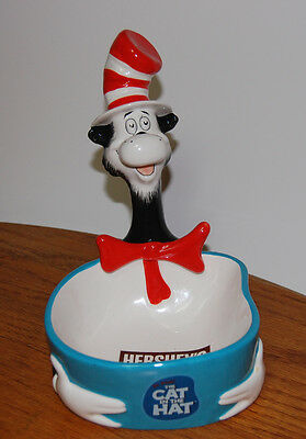 Cat in the Hat Candy Dish Hershey Official Movie Merchandise 2003 Dr Seuss