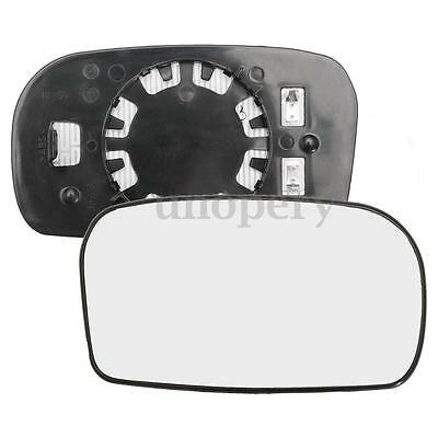 Right Driver Side Heated Electric Wing Door Mirror Glass For Honda Civic 01-05