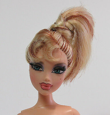 Barbie My Scene Delancey Nude Doll 2004 Masquerade Madness Hombre Hair Eyelashes