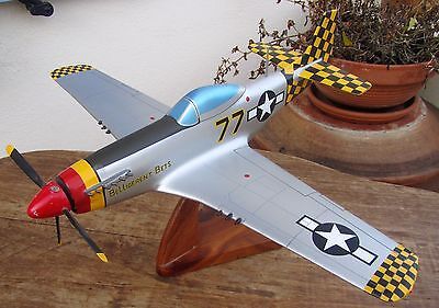 Ancienne Maquette Avion  North American P-51.D Mustang Belligerent Bets