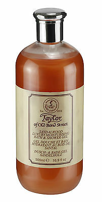 Taylor of Old Bond Street Sandalwood luxury shower gel - 08111