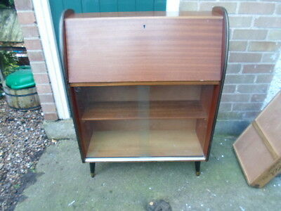 vintage/retro bureau/bookcase disply unit
