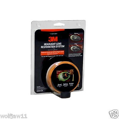 3M Car Automotive Cleaning Products & Kits | (39073) Headlight Restoration Kit