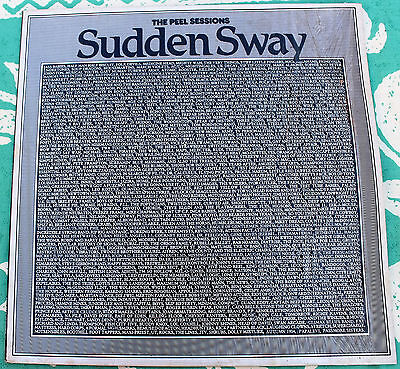 "A SUDDEN SWAY The Peel Sessions NMINT 12"" EP Strange Fruit SFPS 005 1986"