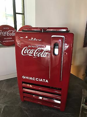 ghiacciaia majestic coca cola,no jukebox flipper anni50 Restaurata