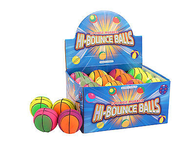 "High Bounce Sponge Rubber Play Balls Kids Amusement &  Pets Chew Toys ""random"""